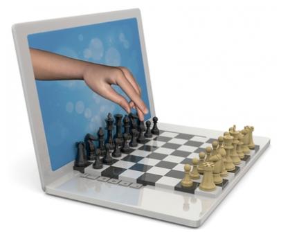 Игра в шахматы с компьютером