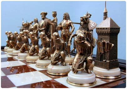 Предшественницы шахмат
