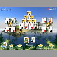 Игра онлайн Багамский пасьянс