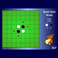 Игра онлайн Bears reversi