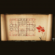 Игра онлайн Beautiful sudoku