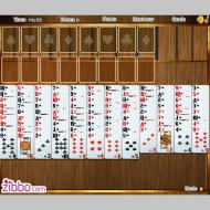 Игра онлайн Свободная ячейка Duplex