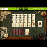 Игра онлайн Горный пасьянс