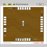 Игра онлайн Jamaican domino