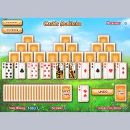 Игра онлайн Пасьянс Замок