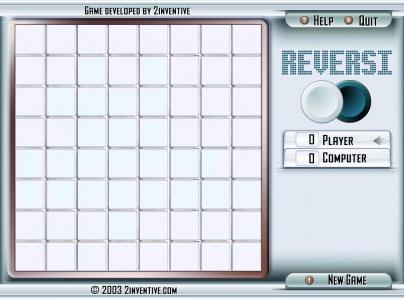 Игра онлайн 2inventive reversi