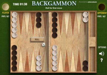 Игра онлайн Arcadium backgammon