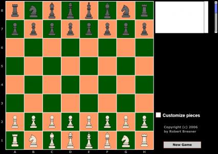 Игра онлайн Шахматы на двоих
