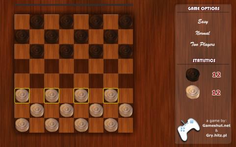 Игра онлайн Classic checkers