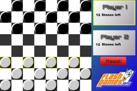 Игра онлайн FG checkers