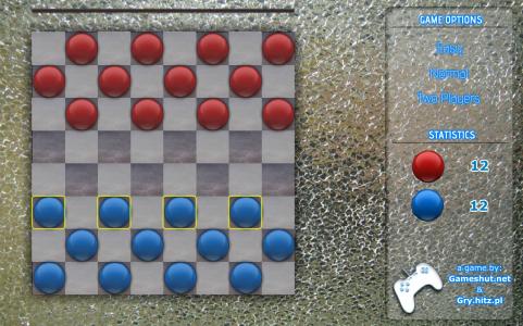 Игра онлайн Gameshut checkers