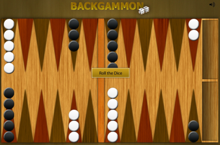 Игра онлайн Gold backgammon
