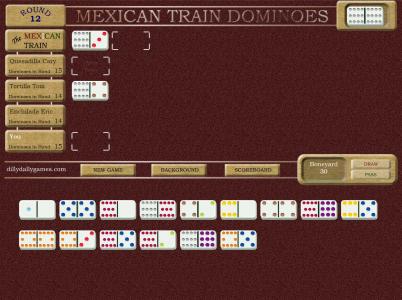 Игра онлайн Mexikan domino