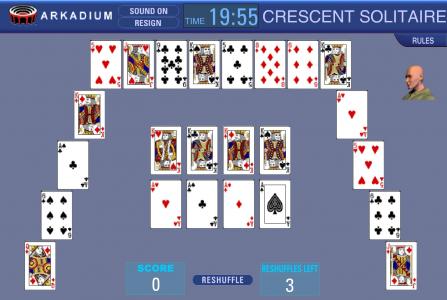 Игра онлайн Полумесяц