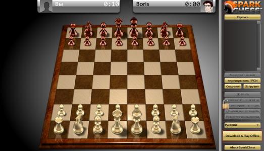 Шахматы онлайн Spark Chess