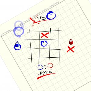 Игра онлайн X vs O