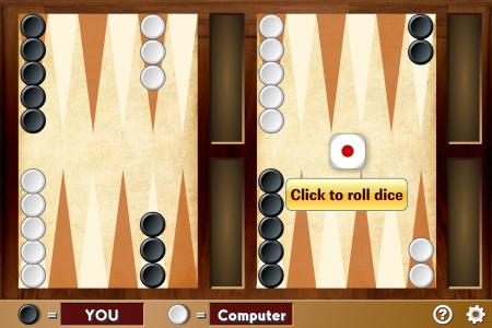 Игра онлайн Yahoo backgammon