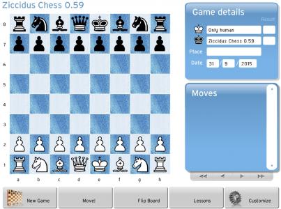 Шахматы онлайн Ziccidus Chess