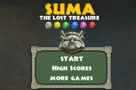 Игра онлайн Zuma