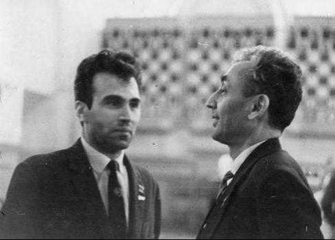 Александр Рошаль и Владимир Зак, 60-е годы