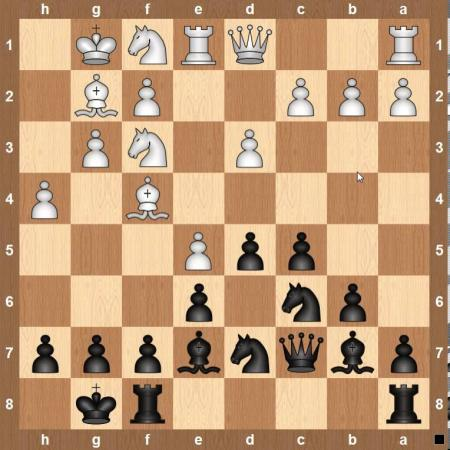 Шахматы. Французская защита (тонкости).
