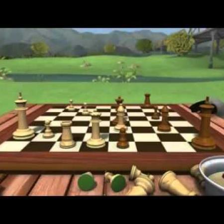 Мультфильм: Бернард играет в шахматы