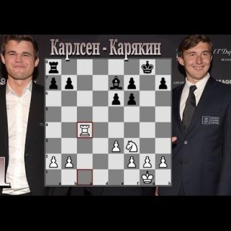 Партия 1 -  Дебют Тромповского. Эндшпиль конь против слона.
