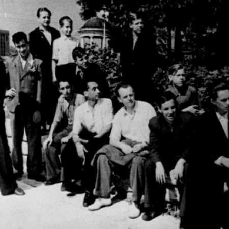 Команда Ленинграда - чемпион СССР среди юношей 1949 года