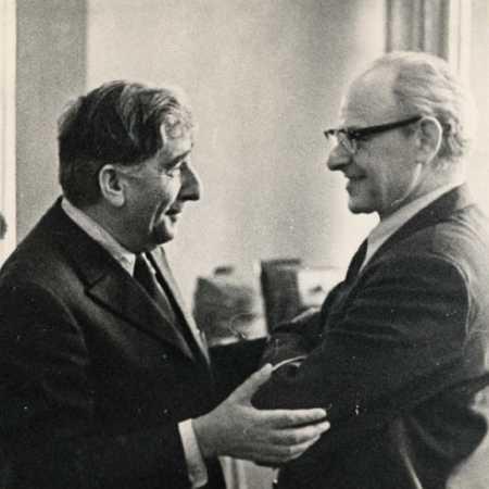 Игорь Захарович Бондаревский, с Семеном Фурманом