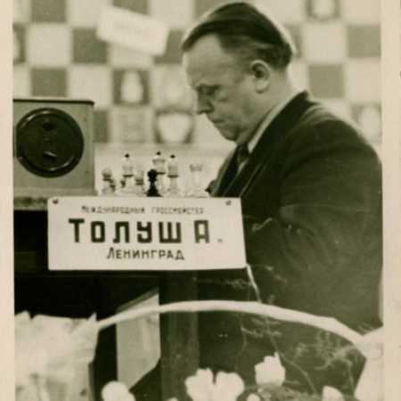 Александр Казимирович Толуш в конце 50-х годов
