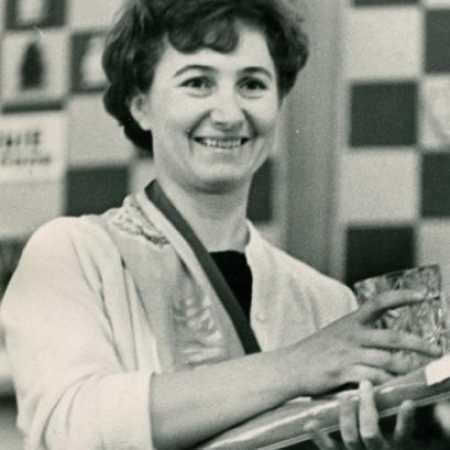 Валентина Яковлевна Козловская, на командном чемпионате РСФСР, Ленинград, 1967 год